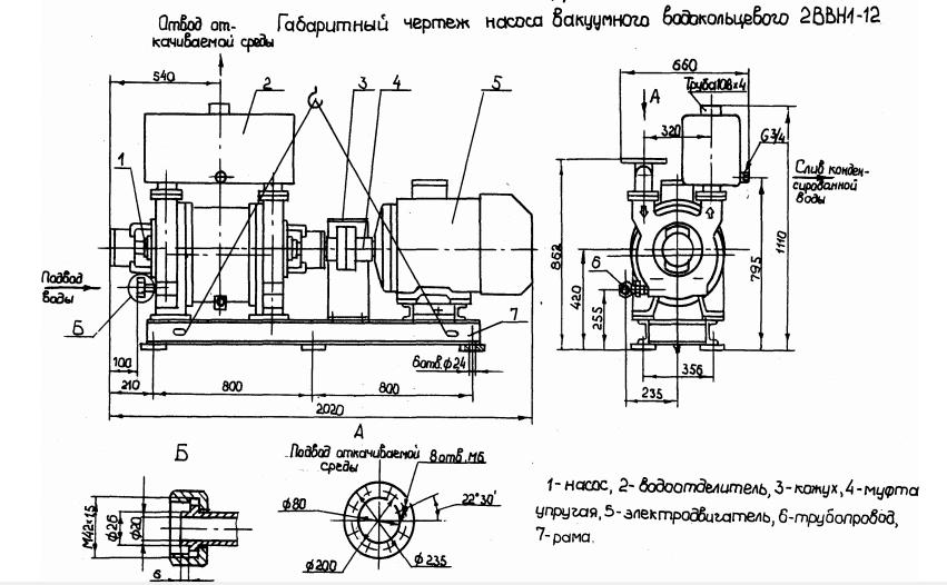 Насос ВВН1-12 схема